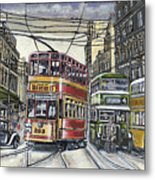 Buses Trams Trolleys Metal Print