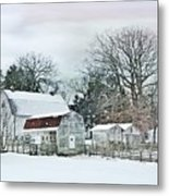 Bush Barn Metal Print