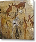 Bushman Painting Metal Print