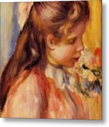 Bust Of A Young Girl Metal Print