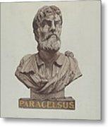 Bust Of Paracelsus Metal Print