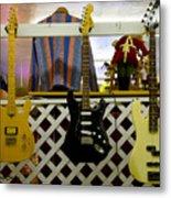 Busted Dreams Of Nashville Stardom Metal Print