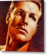 Buster Crabbe, Vintage Hollywood Legend Metal Print