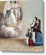 Bustos: Worship, 1879 Metal Print