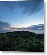 Busy Boats At Blue Hour Metal Print
