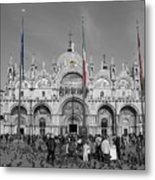Busy St Marks Metal Print