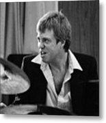 Butch Miles, Jazz Drummer Metal Print