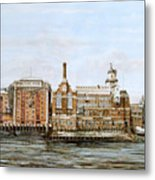 Butlers Wharf And Courage's Brewery Metal Print