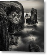 Butt Of Lewis Cliffs Metal Print