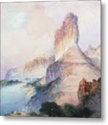 Butte Green River Wyoming Metal Print