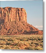 Butte, Monument Valley, Utah Metal Print