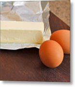 Butter And Eggs Metal Print