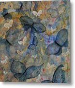 Butterflies And Fairies Metal Print