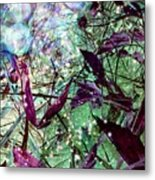 Butterflies At Night  Metal Print