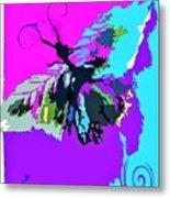 Butterfly Art By Lisa Kaiser Metal Print