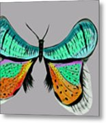 Butterfly Commission Metal Print