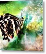 Butterfly Daydream Metal Print