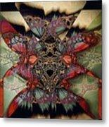 Butterfly Effect 2 / Vintage Tones  Metal Print