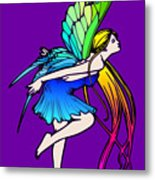 Butterfly Fairy Wings Metal Print