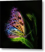 Butterfly Fantasy 2a Metal Print