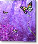 Butterfly Fantasy Metal Print