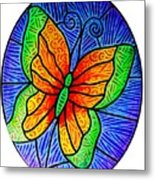 Butterfly Glory Metal Print