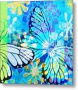 Butterfly In Flight #3  Metal Print