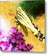 Butterfly Journey Metal Print