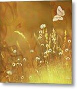 Butterfly Kiss Metal Print