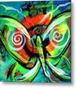 Butterfly Love Metal Print