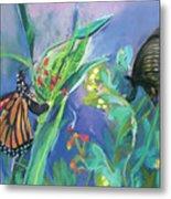 Butterfly Mammas Metal Print