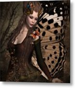 Butterfly Princess Of The Forest 2 Metal Print