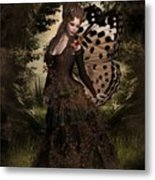 Butterfly Princess Of The Forest Metal Print