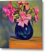 Butterfly Roses Metal Print