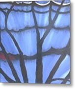 Butterfly Tree 2 Metal Print