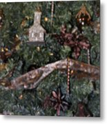 Butterfly Tree Detail 2 Fashions For Evergreens Hotel Roanoke 2009 Metal Print