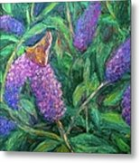 Butterfly View Metal Print