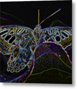Butterfly Work Rws Number 6 Metal Print