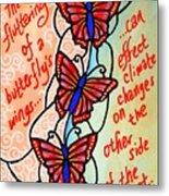 Butterflywhispers4 Metal Print