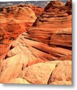 Buttes And Checkerboards Metal Print