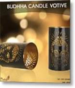 Buy Attractive Buddha Candle Votive From Rustik Craft  Metal Print