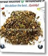 Buy Herbal Incense In Great Number At Wholesale Prices Metal Print