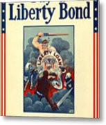 Buy Liberty Bonds Metal Print