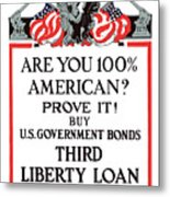 Buy U.s. Government Bonds Metal Print