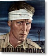 Buy War Bonds Metal Print