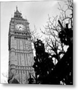 Bw Big Ben London 2 Metal Print