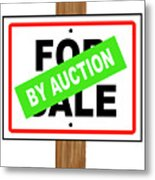 By Auction Metal Print