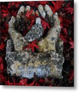 By His Hands Metal Print
