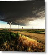 By Road, By Rail, Or By God Metal Print