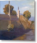 By The La River Metal Print